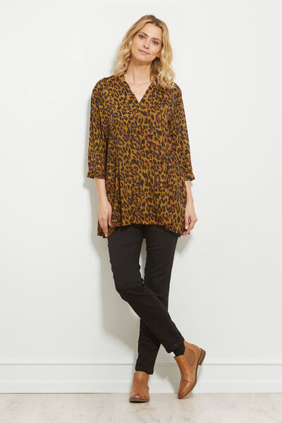IMORGA BLOUSE, GINGER, hi-res