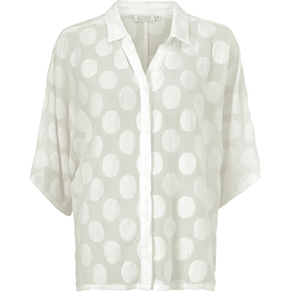 ILLA BLOUSE, CREAM, hi-res