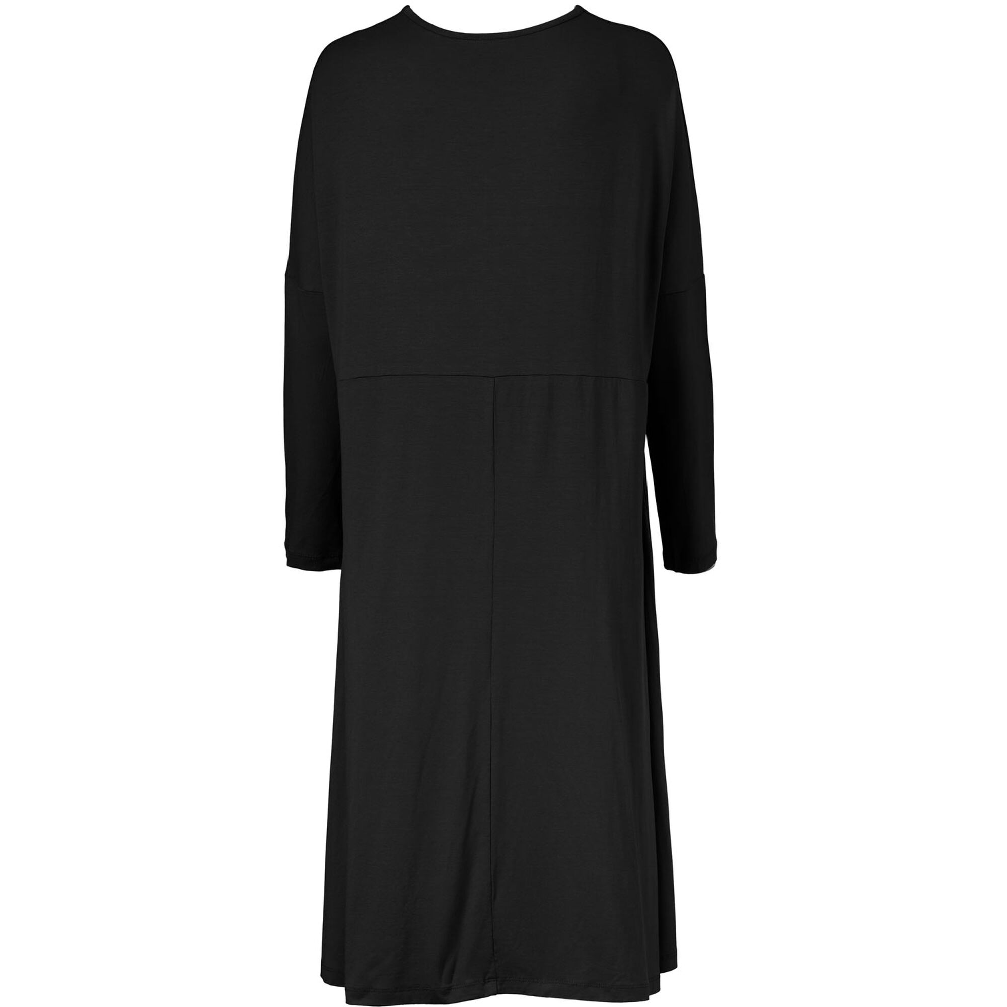 NABSA DRESS, Black, hi-res