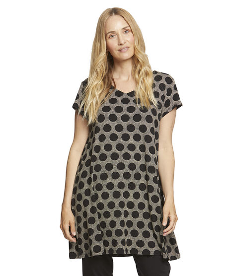 GIGNA TUNIC, Black, hi-res