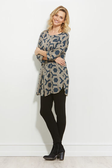 GORDANA TUNIC, AQUARIUS, hi-res