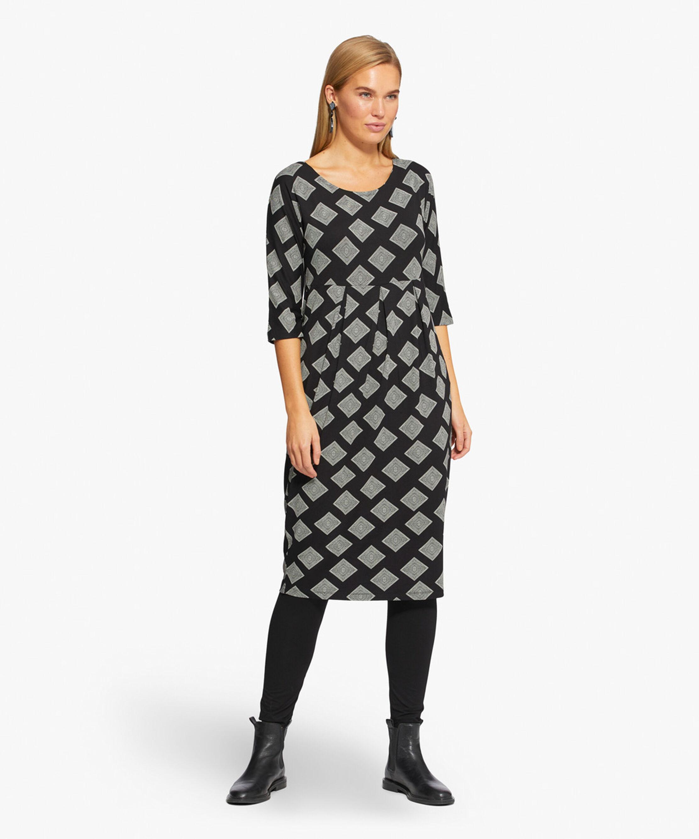 NIMA DRESS, Black, hi-res