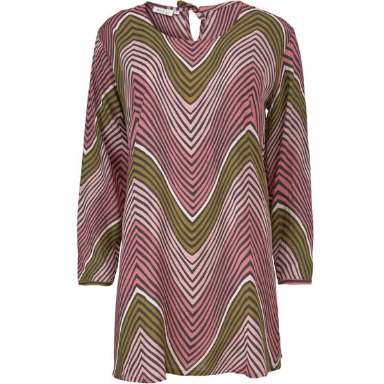 GABINI TUNIC, BLUSH, hi-res