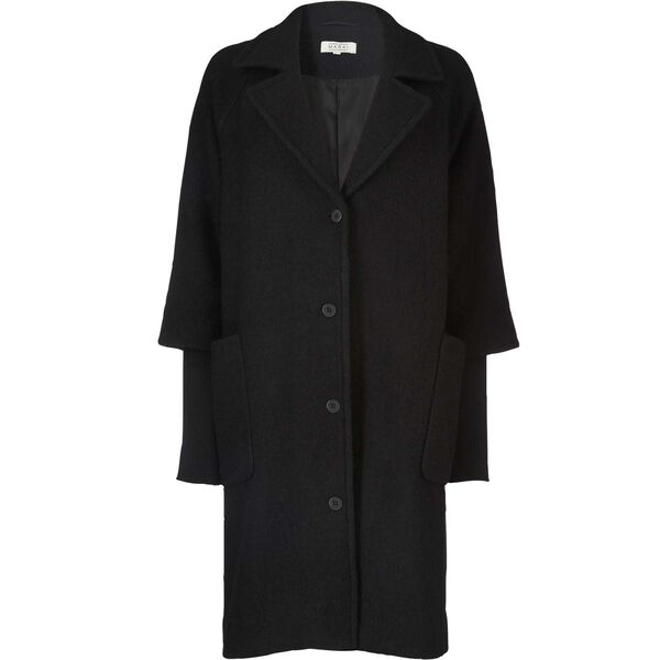 TRACY COAT, BLACK, hi-res
