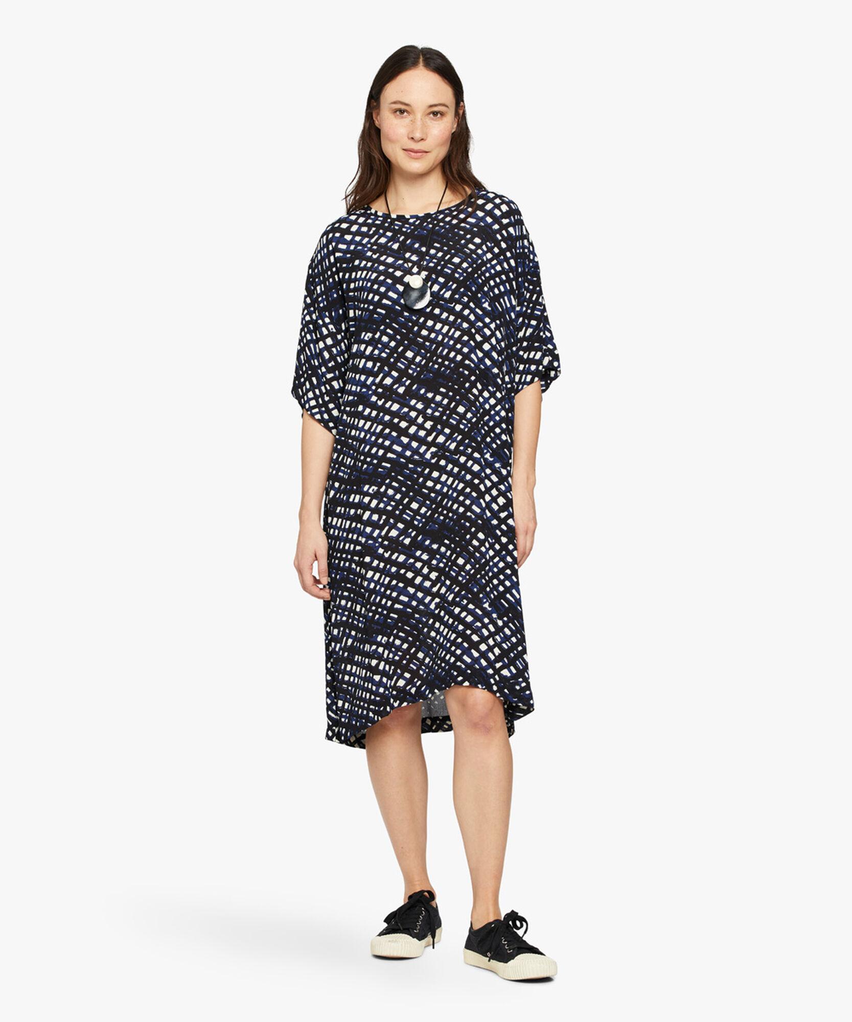 NABI DRESS, Medieval blue, hi-res