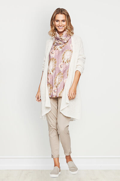 LESA CARDIGAN, CREAM, hi-res
