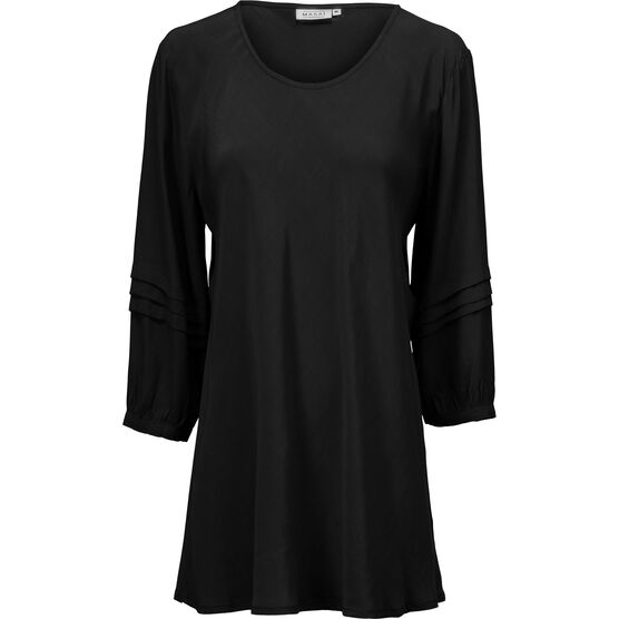 BEATE TOP, Black, hi-res
