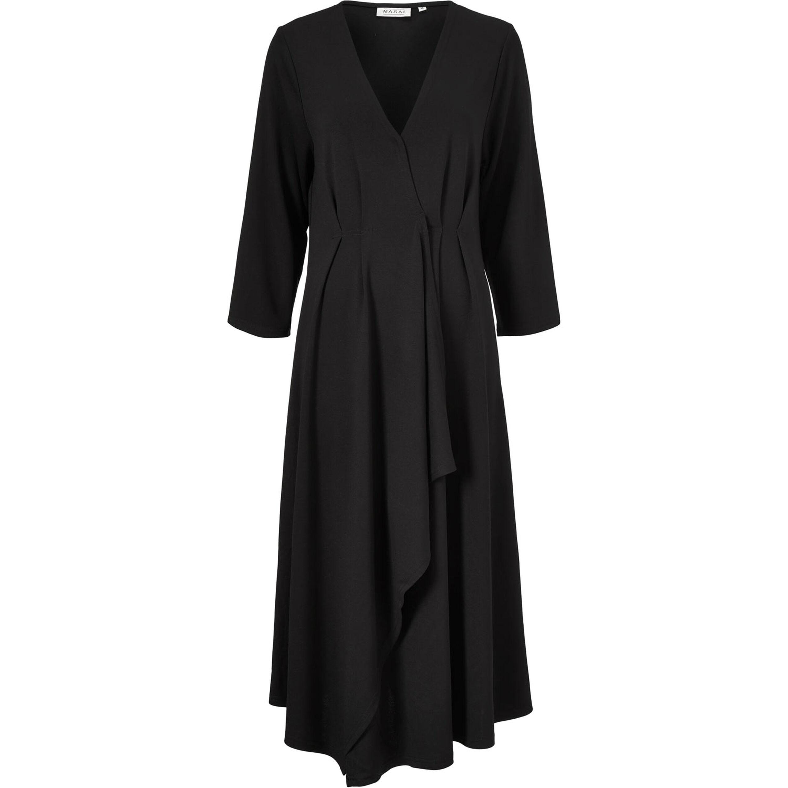 NIKASSI DRESS, Black, hi-res
