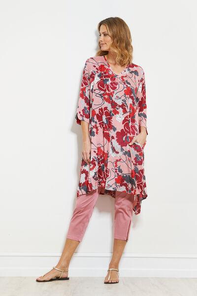 NADINE DRESS, DUSTY ROSE, hi-res