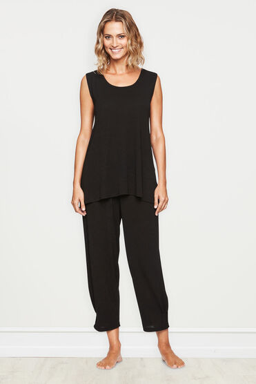 ELTA TOP, BLACK, hi-res