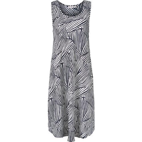 OCULLA DRESS, NAVY ORG, hi-res