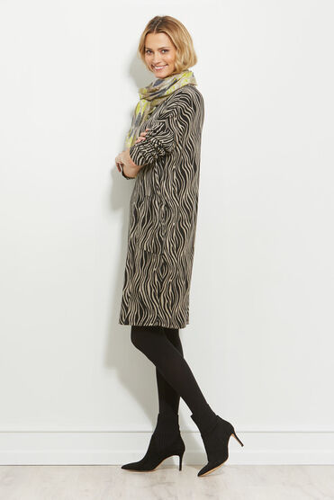 NOLENE DRESS, KHAKI, hi-res