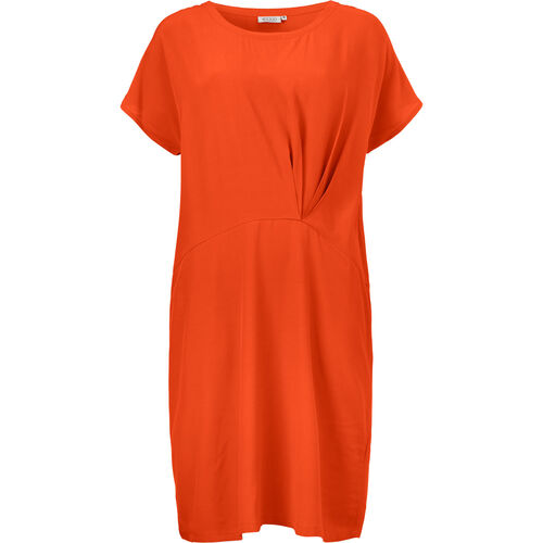 OMIA DRESS, PUMPKIN, hi-res