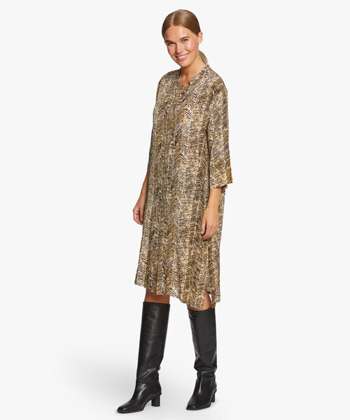 NIMES SHIRT DRESS, Tapenade, hi-res