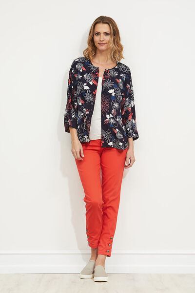 Inga blouse, POPPY, hi-res