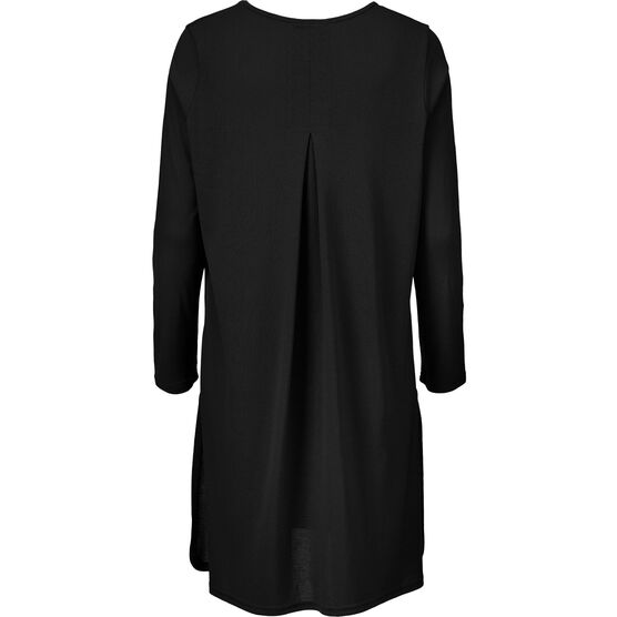 GLOW TUNIC, BLACK, hi-res