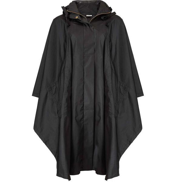 TASIMA RAIN PONCHO, BLACK, hi-res