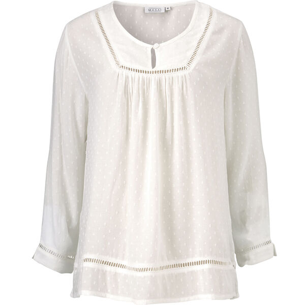 DAVINIA TOP, CREAM, hi-res
