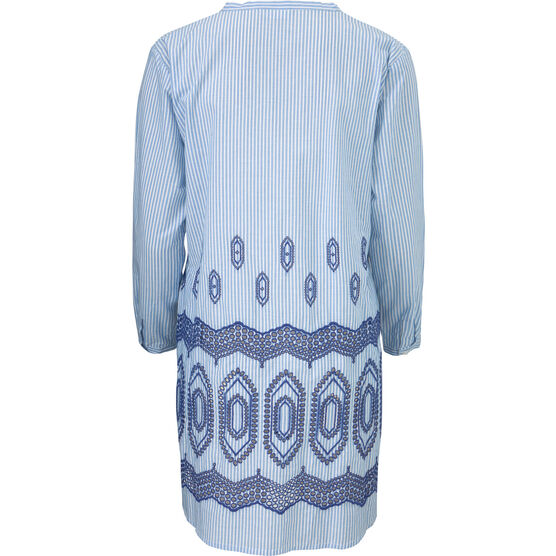 GEANNA TUNIC, GREEK BLUE, hi-res