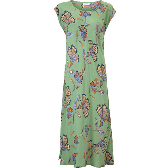 UNNI DRESS, Stone Green, hi-res