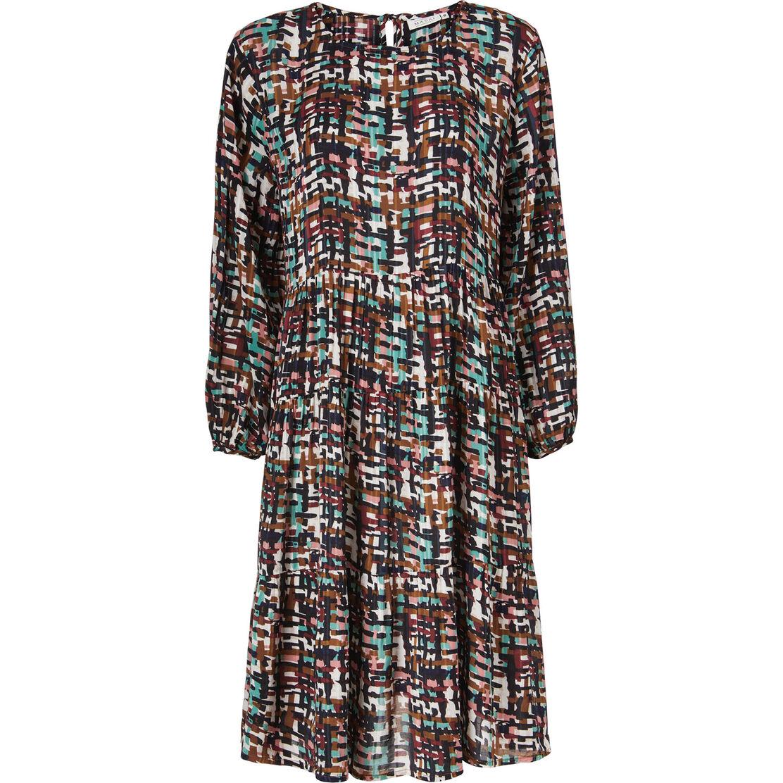 NORINA DRESS, Syrah, hi-res