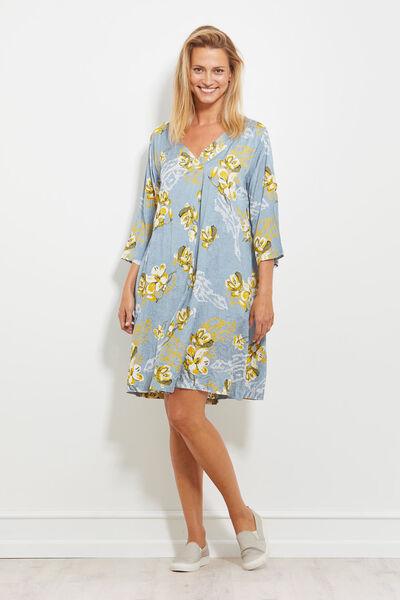 NITA DRESS, BLUEBIRD, hi-res