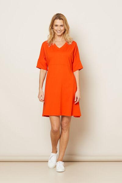 NABY DRESS, Pumpkin, hi-res